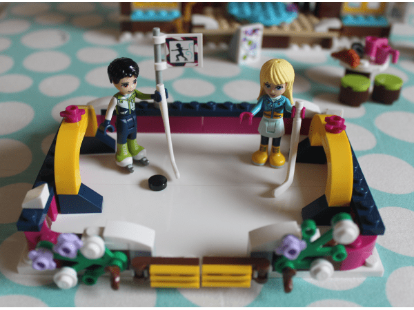 Lego friends ice rink